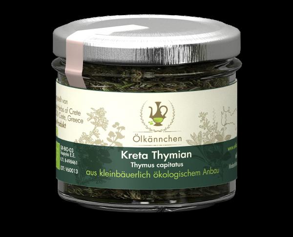 Kreta Thymian 20 gr.-Glas handgerebelt