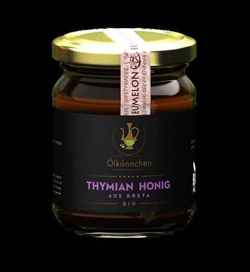 Ölkännchen Thymian Honig 250 gr. Kreta, Lassithi -erzeugerrein
