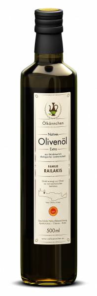 Ölkännchen Familie Railakis gU Apokoronas 500ml Ernte Okt./Nov. 2019