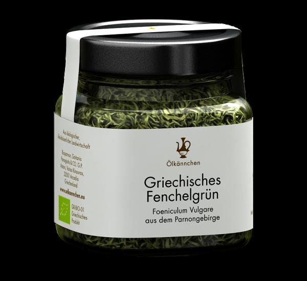 Griechisches Fenchelgrün aus dem Parnongebirge 30g-Glas