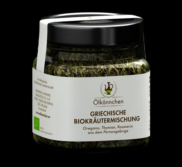 Bio Kräutermischung aus dem Parnongebirge 28g-Glas