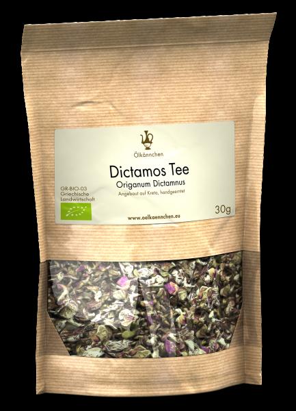 Kreta Dictamos Tee handgeerntet und -gerebelt, 30g-Tüte
