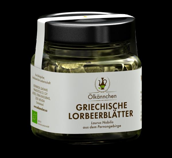 Lorbeerblätter aus dem Parnongebirge 10g-Glas