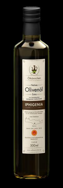 Ölkännchen Iphigenia PDO Messara 500 ml, Ernte Okt./Nov. 2018