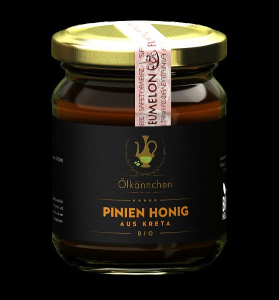 Ölkännchen Pinien Honig 250 gr. Kreta, Lassithi -erzeugerrein