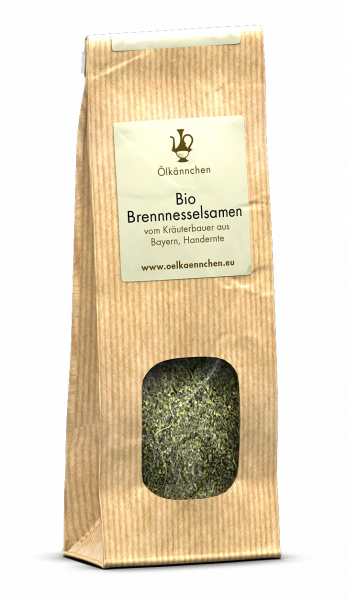 Brennesselsamen von Hand geerntet, Bayrische Landwirtsch. 25 gr.-Papiertüte