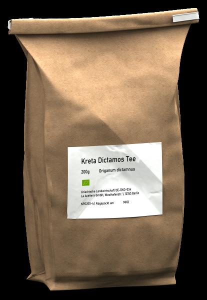 Kreta Dictamos Tee GROßPACKUNG handgeerntet und -gerebelt, 200g-Tüte