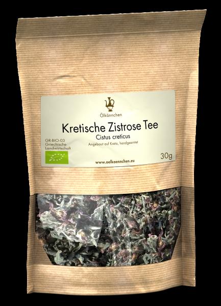 Kretische Zistrose Tee handgeerntet, Kreta 30 g